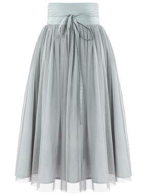 buy popular 10a30 496d0 Black High Waist Pleated Mesh Skirt | Anziehsache | Mesh ...