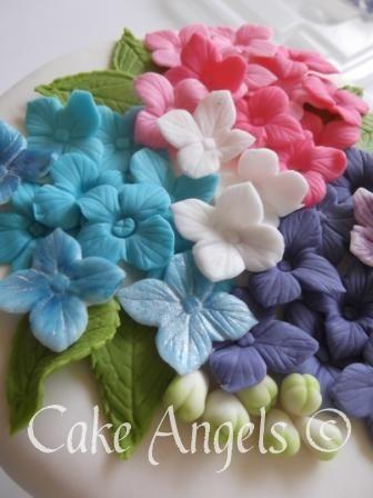 Hydrangea Sugar Flowers