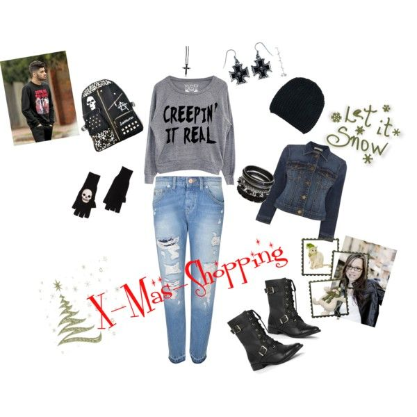 """X-Mas-Shopping"" by darksoul29 on Polyvore"