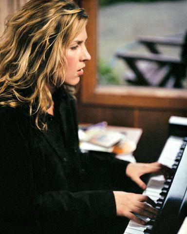 Diana Jean Krall, OC, OBC (born November 16, 1964) is a Canadian jazz pianist and singer, known for her contralto vocals.[2] She has sold more than 6 million albums in the US and over 15 million worldwide. On December 11, 2009, Billboard magazine named her the second Jazz artist of the 2000–09 decade, establishing her as one of the best-selling artists of her time. She is the only jazz singer to have eight albums debuting at the top of the Billboard Jazz Albums.[3] To date, she has won two…