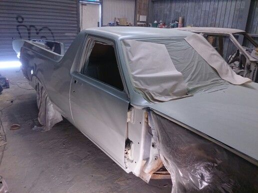 Another view in epoxy primer