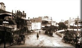 Main St,Katoomba,New South Wales in 1870.