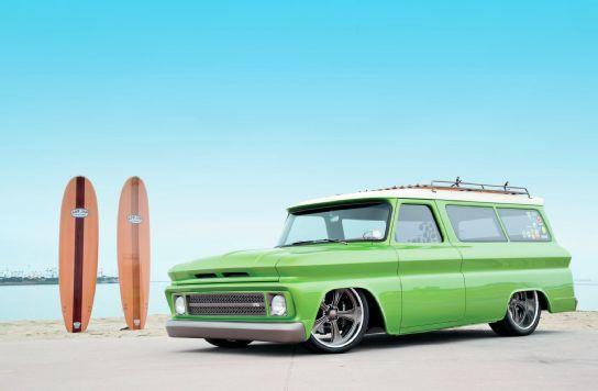 1966 Chevrolet Suburban - Lime Crush