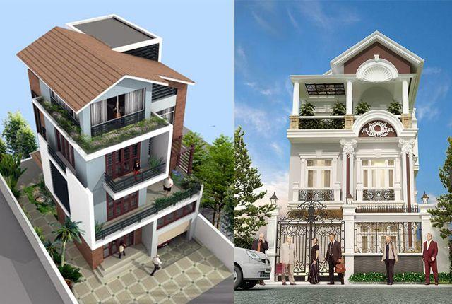 Thiết kế biệt thự  phố đẹp là sự kết hợp hài hòa các yếu tố phong thủy và sử dụng phù hợp với nhiều diện tích khu đất khác nhau http://thietkexaynha.com.vn/cac-mau-thiet-ke-biet-thu-pho-tuyet-dep.html