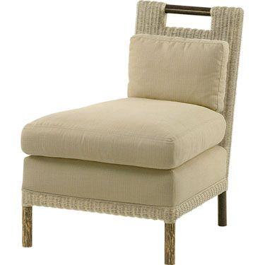 Thomas Pheasant Woven Core Slipper Chair