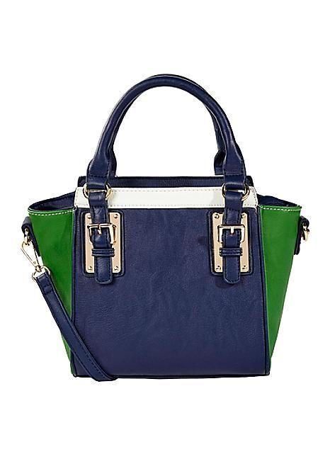 Colour Block Mini Grab Bag #kaleidoscope #bag #jetsetting #holiday