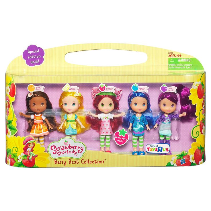 Strawberry Shortcake Dolls, Berry Best Collection Doll Set - Toys ...