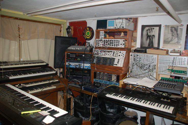 My studio circa 2011