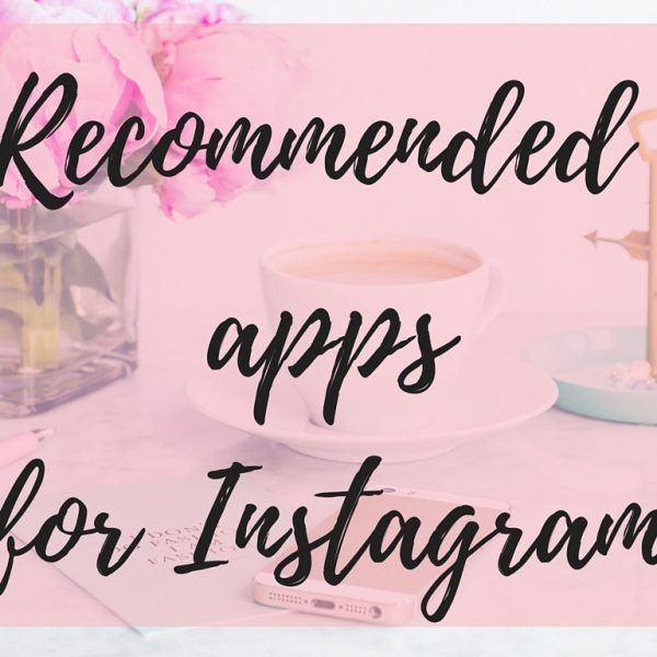 Recommended Apps for Instagram