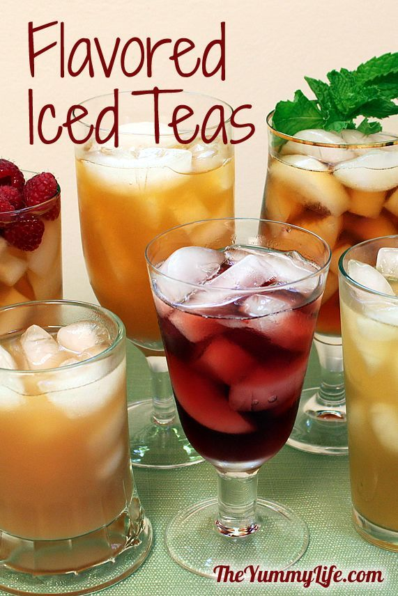 1000 ideas about flavored lemonade on pinterest for Easy fruit tea recipe