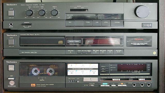 Technics 80s System Sound Systems Hifi Audio Music