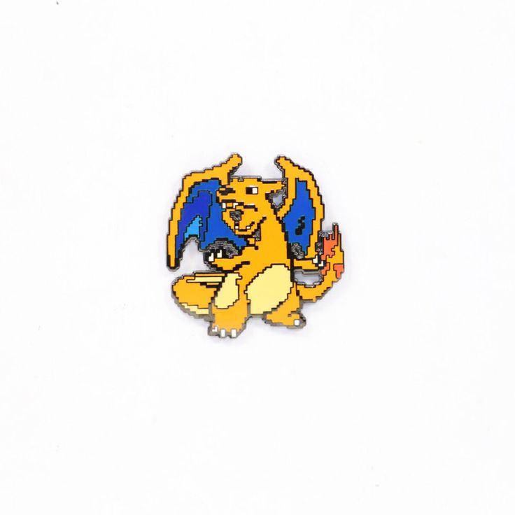 CHARIZARD Custom High Quality Metal/ Enamel Lapel Pin!Hat Pin, Lapel Pin,