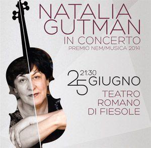 Natalia Gutman è forse la massima violoncellista vivente. Una vera icona della grande musica nel mondo. Sarà a Fiesole il 25 giugno per arricchirci con nuove splendide interpretazioni e per ritirare il Premio Nem/Musica 2014.