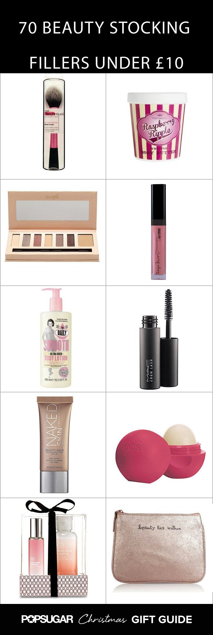 Pin for Later: 70 Fab Beauty Stocking Fillers For £10 and Under