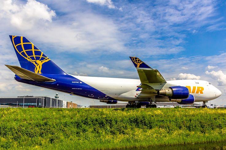 https://flic.kr/p/tHJLsd | Boeing 747-47UF Atlas Air N497MC (AMS)