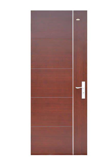 Lastest Waterproof Wooden Main Door Design 2012 M042