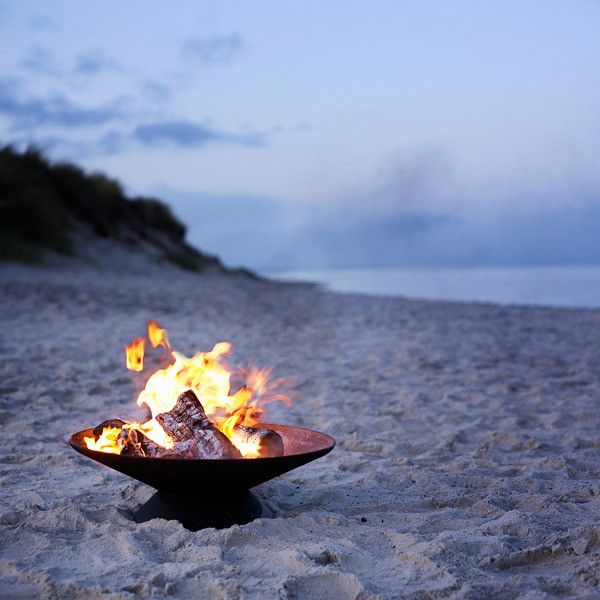 Olympic Firebowl - Portable fireplace, take it from your backyard, to the  beach, - 16 Best Beach Fire Pits Images On Pinterest Campfires, Bonfire