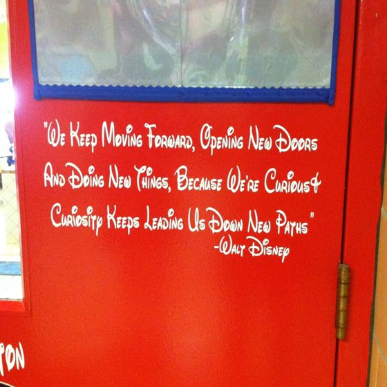 AWESOME classroom quote for the door!!!!