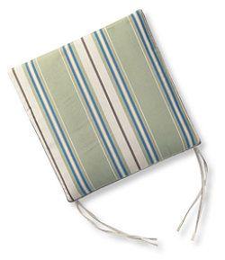 #LLBean: Casco Bay Universal Chair Cushions, Stripe
