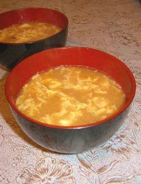 すごくおいしい!納豆とたまごのお味噌汁