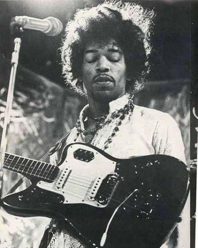 Jimi Hendrix & Fender Jaguar