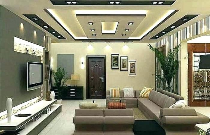 Latest Modern False Ceiling Living Room Small House Ceiling Design Decoomo
