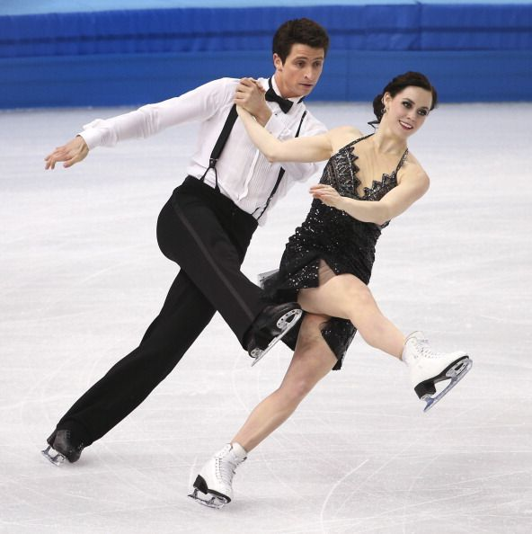 Scott Moir and Tessa Virtue - Short Dance - Sochi 2014
