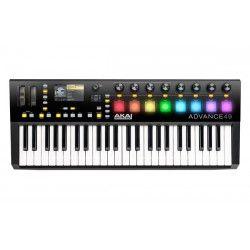 Advance 49 Akai 49-Key MIDI Keyboard with RGB Pads (http://www.djcity.com.au/akai-advance-49-midi-keyboard)