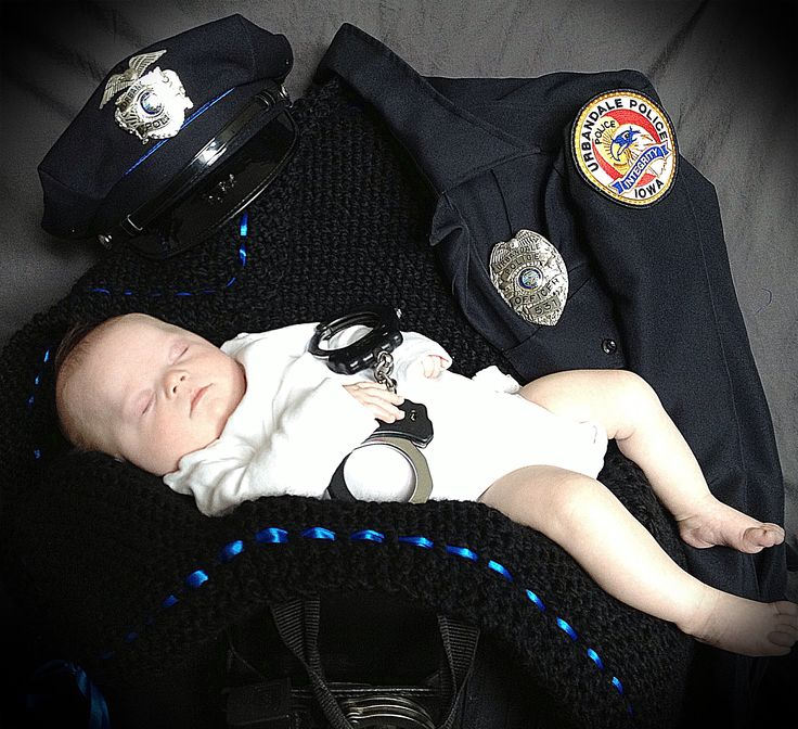 Baby Girl Will Have This Pic In Daddy S Uniform Baby