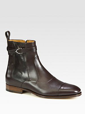 Gucci Hey Leather Boots