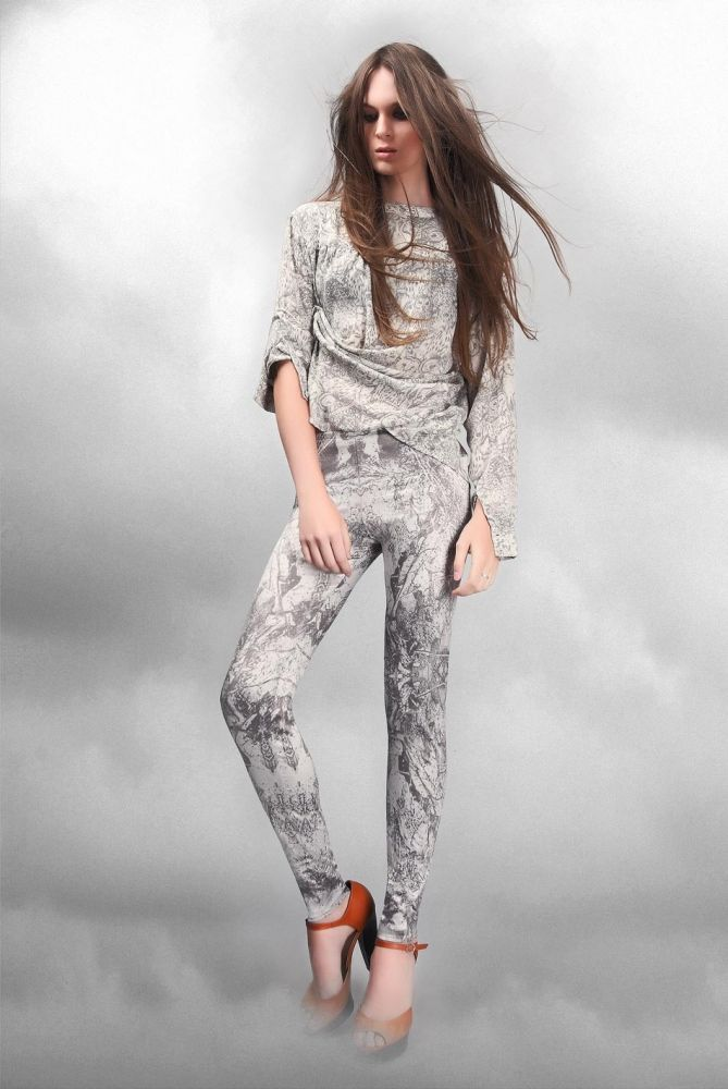 Леггинсы SILVER FOREST printed leggings