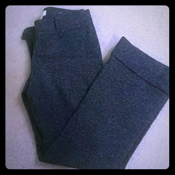 Ann Taylor new condition pants Ann Taylor Loft...Dark grey.. Petite work or dress pants. Marisa style Ann Taylor Pants