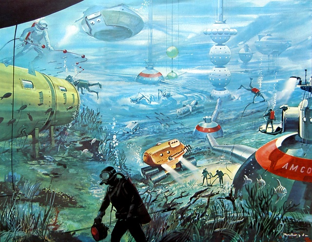 Concept Designs for Underwater Cities.