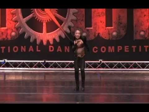 Sky Pasqual performs a tap solo to Miss You Much by Janet Jackson.