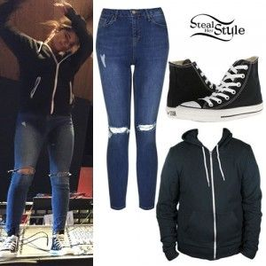 Becky G Outfits - http://r1m.biz/wp-content/uploads/becky-g-ripped-jeans-converse-sneakers-20150322113514-550ea8f23f409.jpg