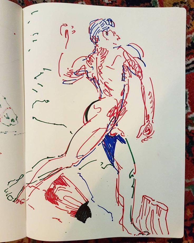 Saucy sketchbook #contemporarydrawing #contemporaryart #sharpie #drawing #art #classical #gay #queer #queerart