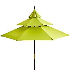 Citron Pagoda Umbrella - 9