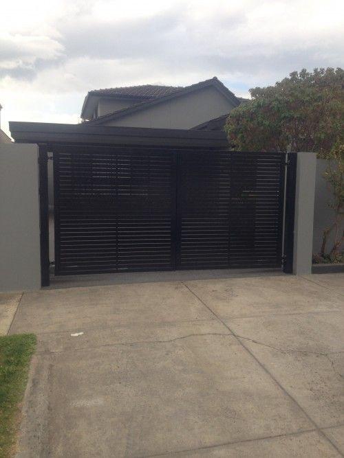 Sliding & Swinging Gates   Modern Gates Melbourne