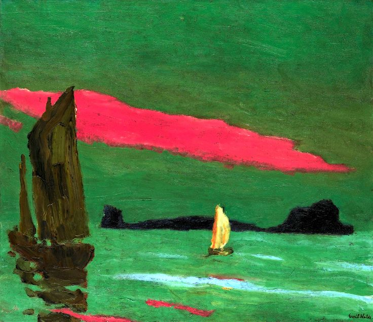 bofransson:  Emil Nolde 1867 - 1956 Südseeinsel (South Sea Island)