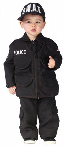 Toddler Boys Authentic SWAT Halloween Costume *** You can get additional details at the image link.
