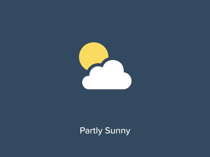 [GIF] Weather by Mark Geyer for Salesforce