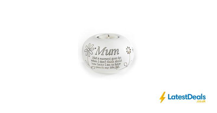 Mum Tealight Candle Holder, £4.99 at Studio