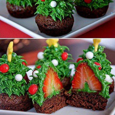 adorable and easy christmas cupcakes