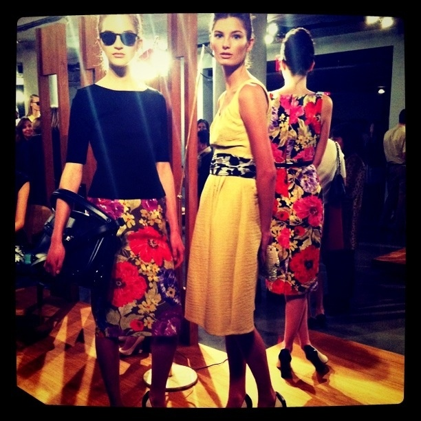 Seeing new product for the first time! - Banana Republic, Spring 2012
