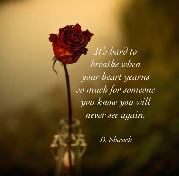 It's hard to breathe ...
