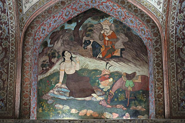 55 Best Chehel Sotoun Palace Murals Images On Pinterest