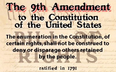 9th Amendment to the U.S. Constitution | Usa | Pinterest ...