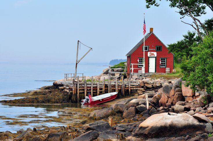 Maine Coast lobster pound