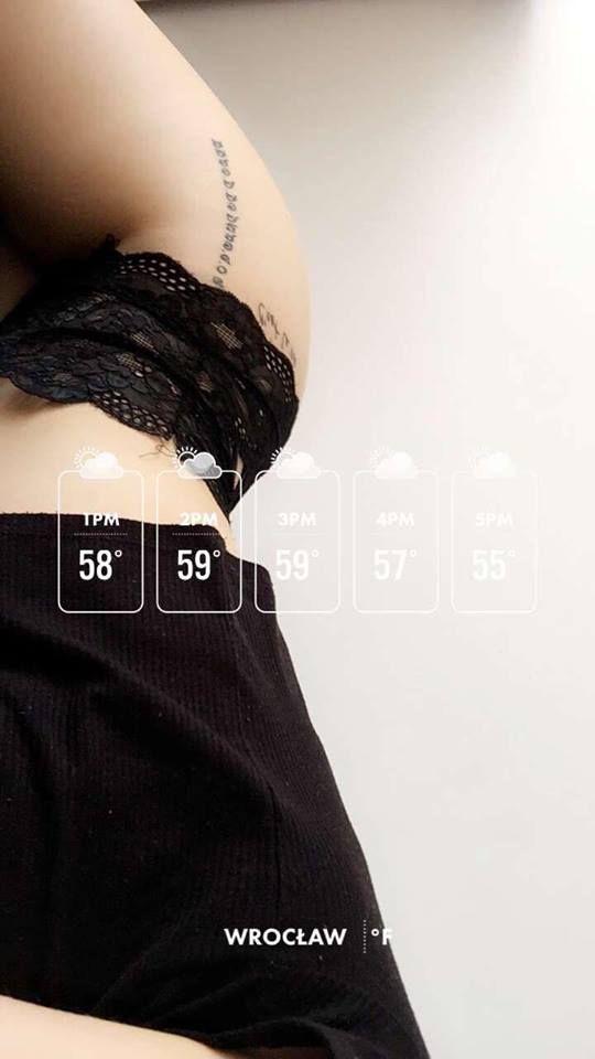 snapchat girl tattoo tattoos Wrocław poland