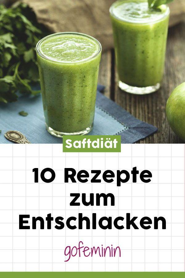 Grüne Säfte Rezepte zur Gewichtsreduktion